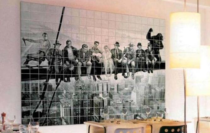 фотоплитка для стен