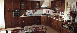 дизайн кухонного фасада фото
