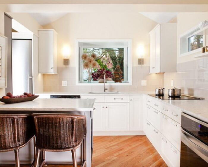 классический стиль угловая кухня