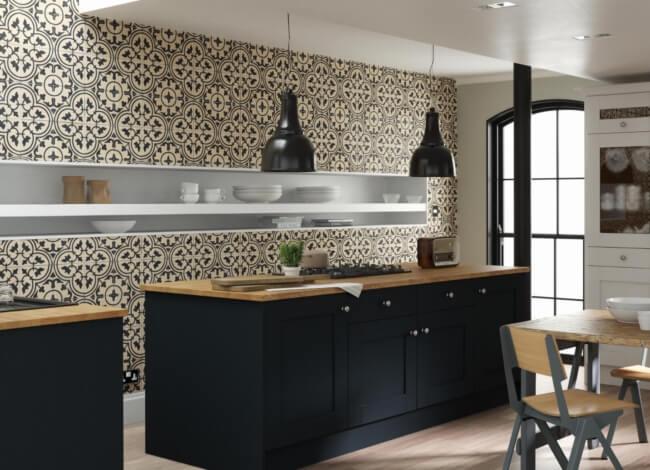 пэчворк дизайн кухни