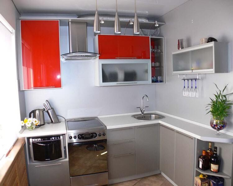 техника в маленькой кухне