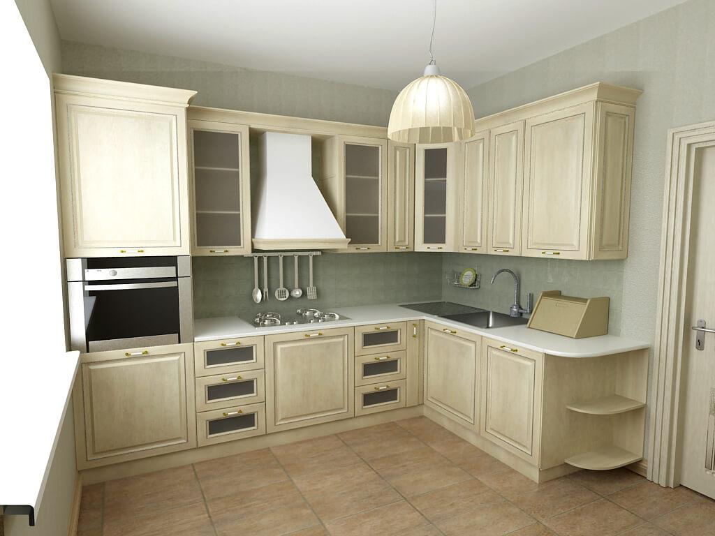Кухонный дизайн и интерьер фото для маленькой