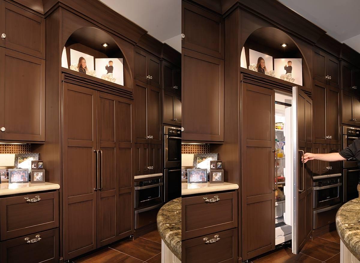 холодильник однокамерный встроенный фото