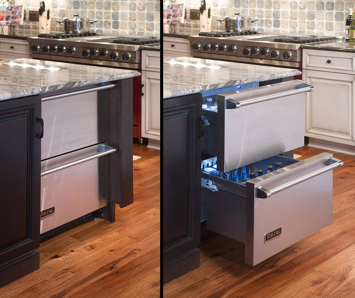 холодильник-столешница