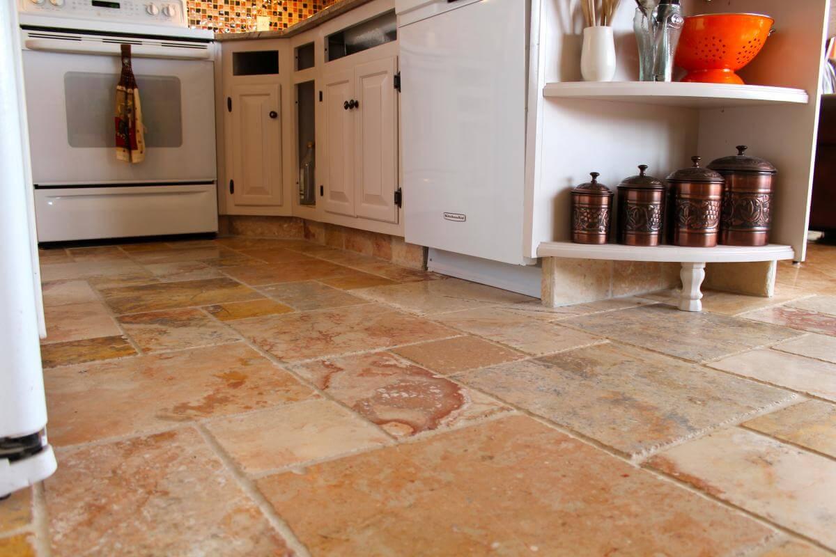 керамические плитки для кухни пол
