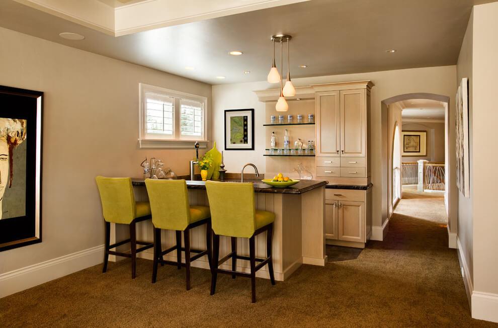 фото кухни с ковролином