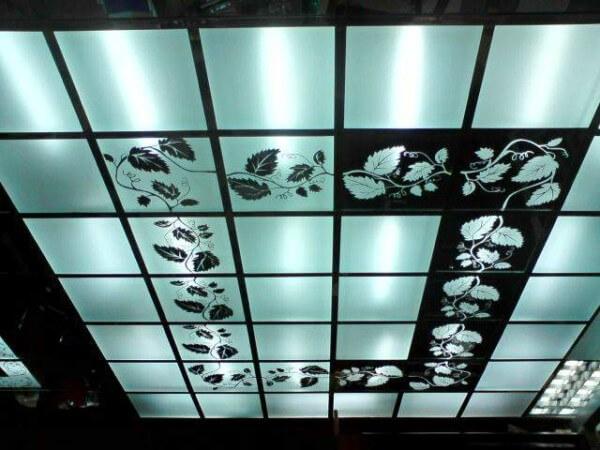 фото касеетный навесной потолок