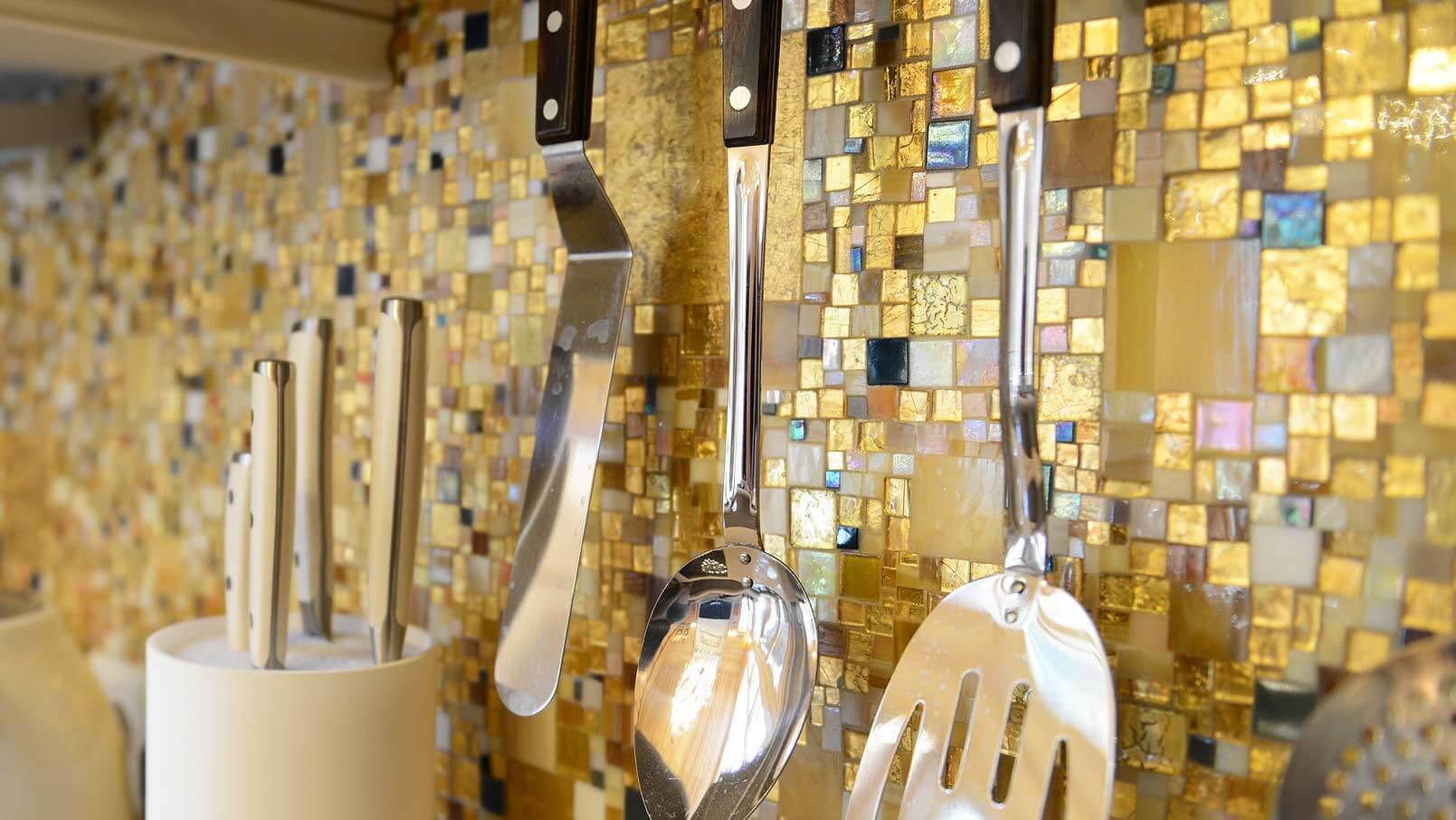 интерьер кухни мозаичная плитка