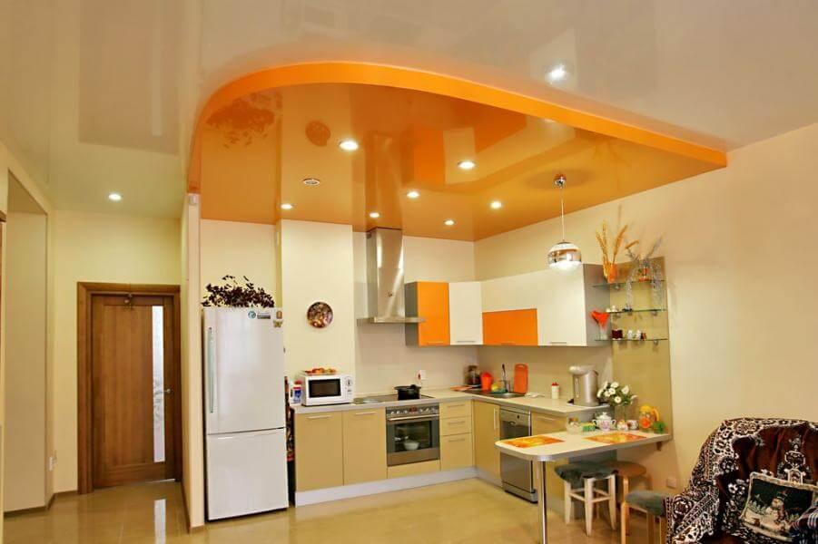 навесной потолок яркий