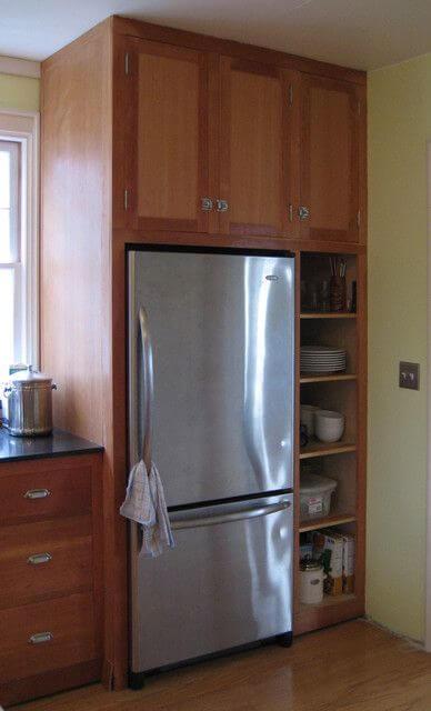 маленький холодильник для кухни
