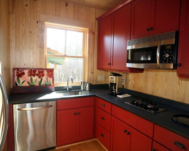 кухня маленькая 9 метром цвета