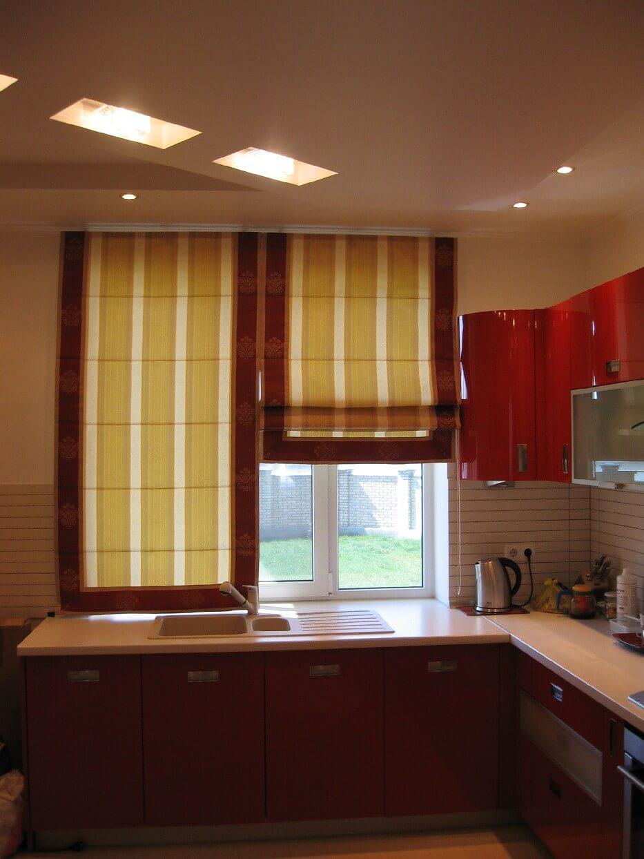 рулонные шторы на кухню подобрать не сложно