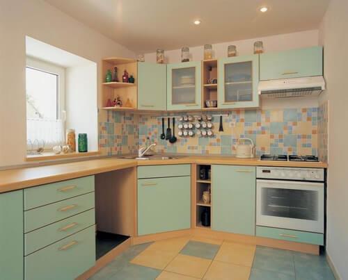 Выбор плитка мозаика для кухни
