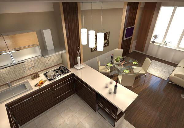 Дизайн кухни гостиной фото – интересные вопросы