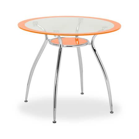 Круглые стеклянные столы для кухни сейчас популярны