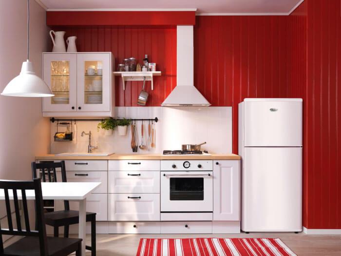 Икеа мебель для кухни очень практична