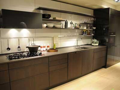 Планировка кухни в частном доме дает больше возможностей для фантазии