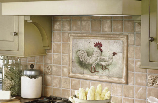 плитка для отделки кухни