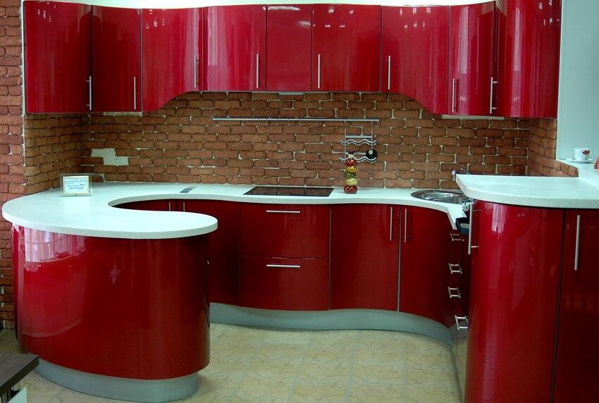 Икеа мебель для кухни смотрится очень солидно