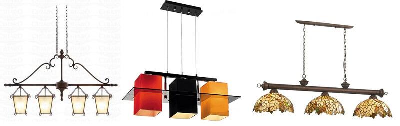 рядные светильники на кухню