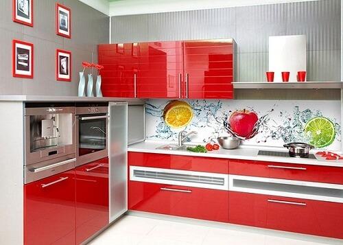 Стеновые листовые панели для кухни