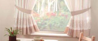 Какие выбрать кухонные шторы фото?