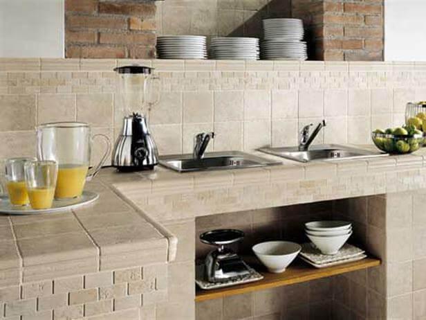 Какая плитка для столешницы на кухне лучше?