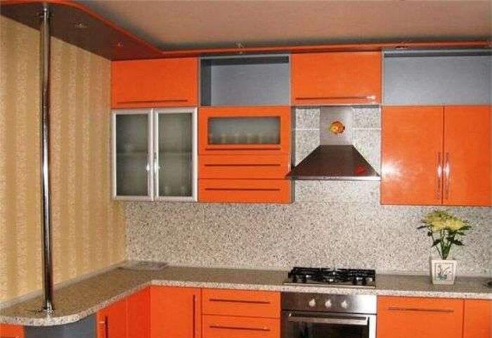 дизайн кухни серии 464