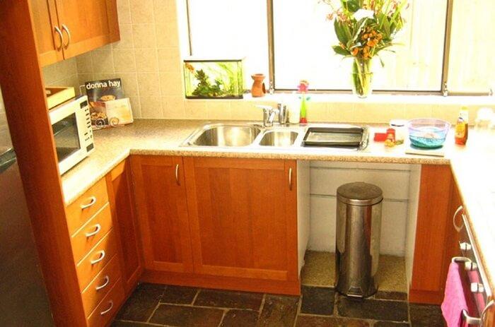 дизайн маленькой кухни серия 464