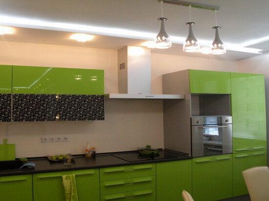 гипсокартоновые потолки для кухни