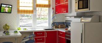 Какая мебель для кухни в хрущевке лучшее?