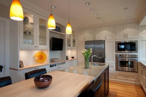 как выбрать большой телевизор на кухню