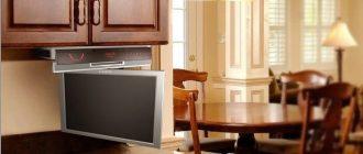 как выбрать телевизор кухонный
