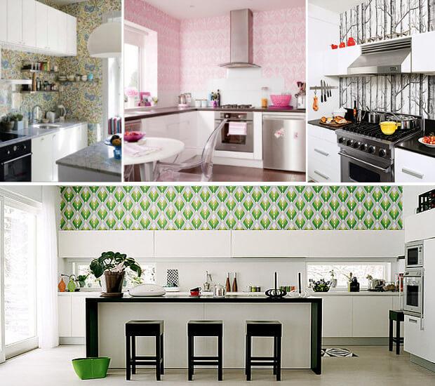 какие обои выбрать в кухню