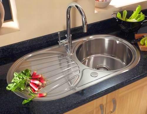 Мойка металлическая для кухни возможна