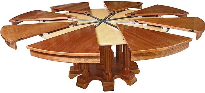 круглый стол трансформер на кухню