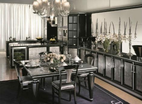 Кухня в стиле арт деко - интересный стиль
