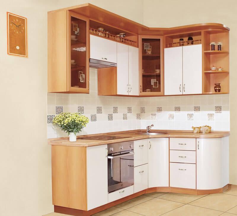 Лучшая кухонная мебель для маленькой кухни