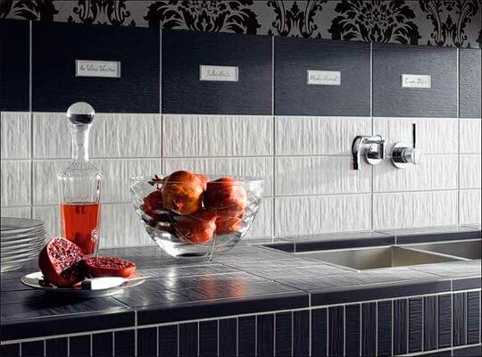 Плитка настенная для кухни