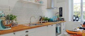 Выбор кухни без верхних шкафов фото