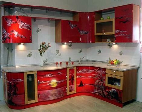 декупаж кухонной мебели своими руками