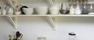 полочки на кухне