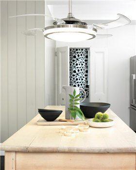 Люстры с вентилятором для кухни