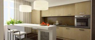 Барные столы для кухни возможно