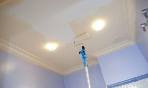Акриловая краска для потолка
