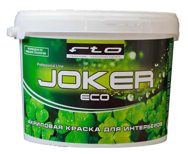 матовая краска «Эко-Джокер»