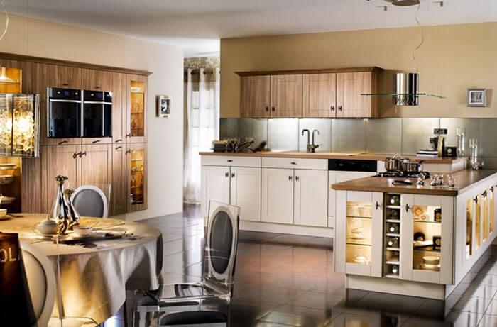 Фото кухни в стиле арт-деко