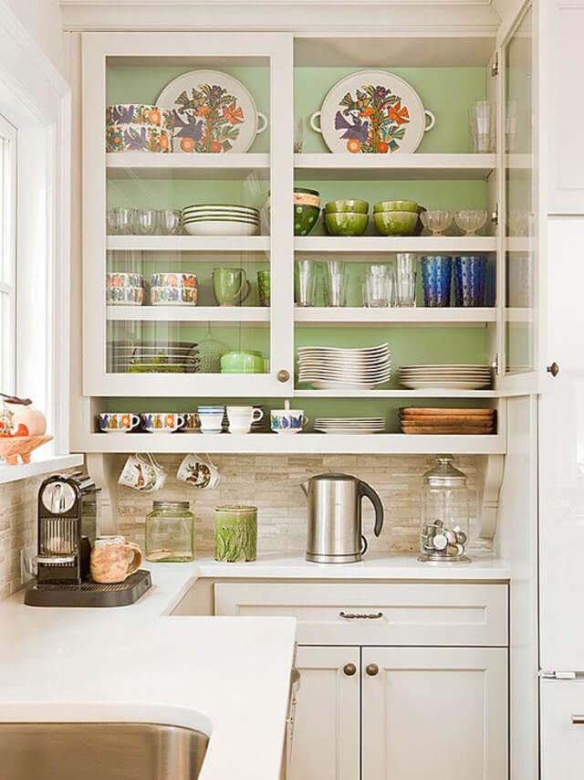 буфет для кухни в скандинавском стиле