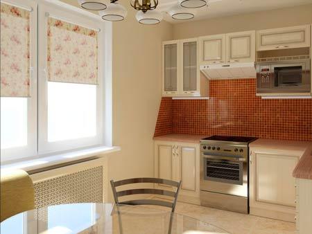 Дизайн кухни 8 кв м