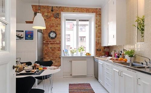 дизайн кухни 12 метров фото